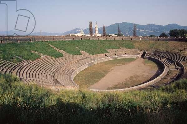 Amphitheater, Pompeii (UNESCO World Heritage Site, 1997), Italy, Roman civilization, 1st century BC