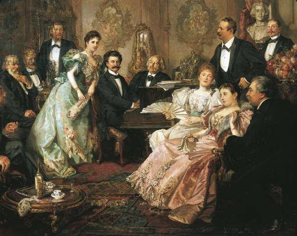 Austria, Vienna, A Night with Johann Strauss painting