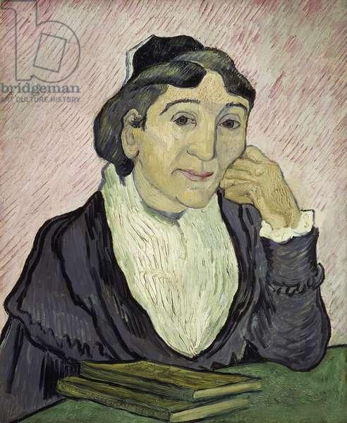 L'Arlesienne (Madame Ginoux) 1890 (oil on canvas)