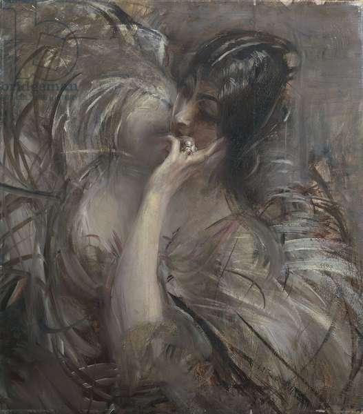 Italy, Portrait of Madame De Joss, 1905 (oil on canvas)