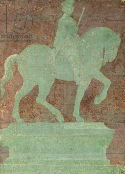 Study for equestrian monument to Giovanni Acuto by Paolo Uccello (1397-1475)