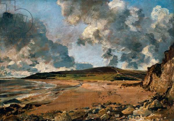 Weymouth Bay: Bowleaze Cove and Jordon Hill, 1816-1817 (oil on canvas)