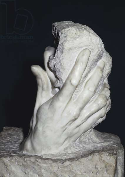 Hand of God, 1896, by Auguste Rodin (1840-1917), marble, 94x82 , 5x54.9 cm