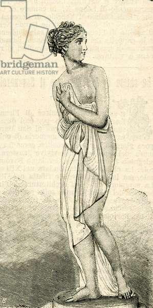 Venus Italica, by Antonio Canova (1757-1822), Galleria Palatina, Florence, Tuscany, Italy