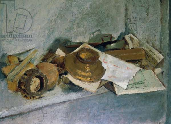 Objects, 1933 (oil on canvas)