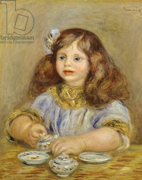 Portrait of Genevieve Bernheim De Villiers by Pierre-Auguste Renoir (1841-1919)