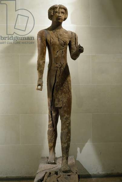 Djefa-Hapi, governor of the province of Asyut during the reign of Senusret I, acacia wood statue, Egyptian Civilization, Middle Kingdom, Dynasty XII