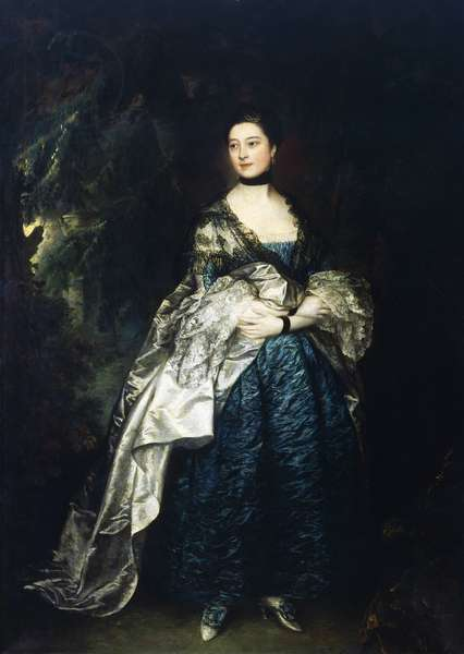 Lady Alston, by Thomas Gainsborough (1727-1788)