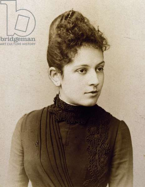 Adele Debussy (1863-1952), sister of composer Claude Debussy