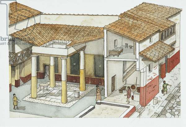 Ancient Rome, Pompeii, residential area