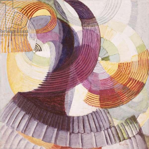 Oscillations, 1925-1927, by Frantisek Kupka (1871-1957). Czech Republic, 20th century.