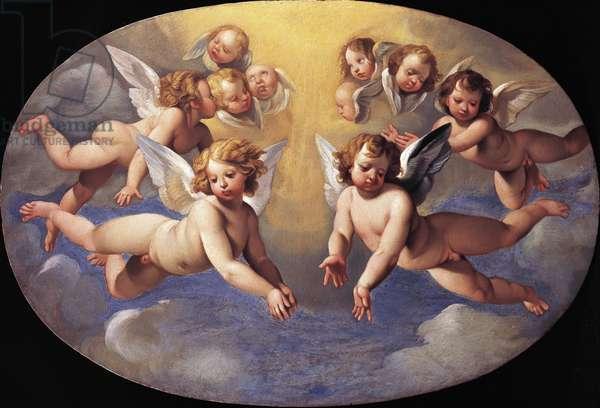 Glory of angels by Giuseppe Cesari (1568-1640)
