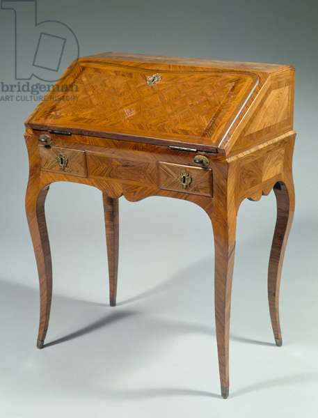 Louis XV style writing desk, France, 18th century