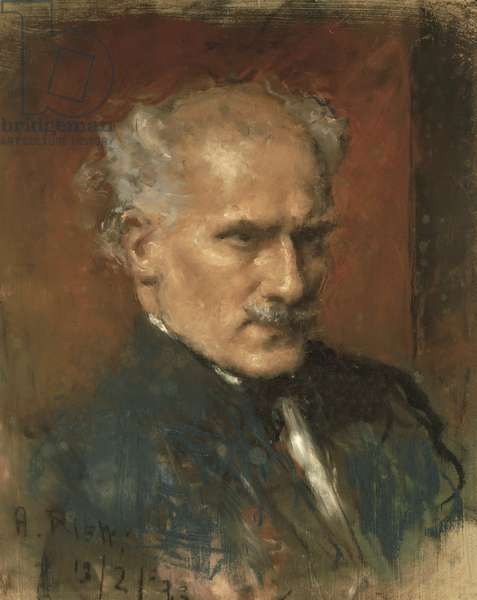 Portrait of Arturo Toscanini (oil on canvas)