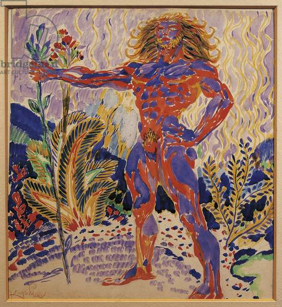 Blue and Red Prometheus, 1908