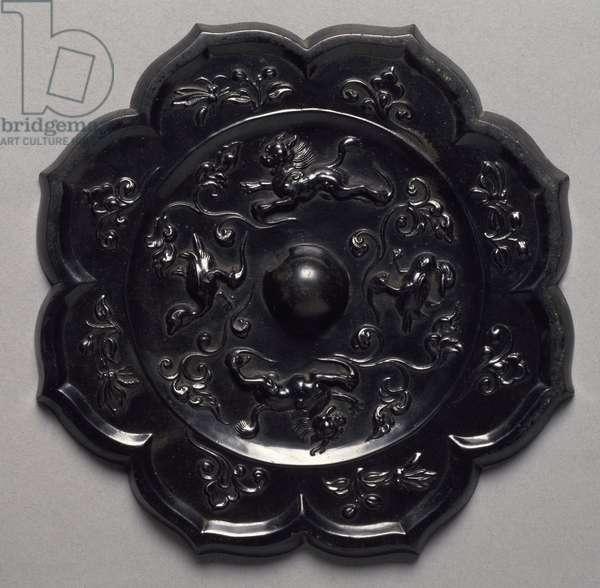 Bronze mirror, China, Chinese Civilisation, Tang Dynasty, 7th-10th century
