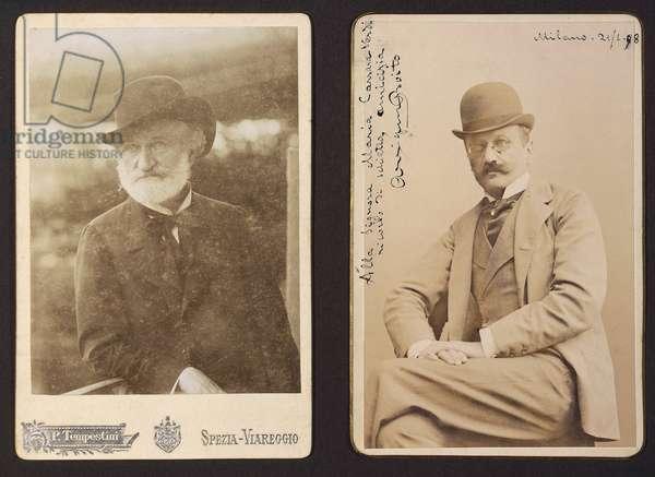 Giuseppe Verdi and Arrigo Boito