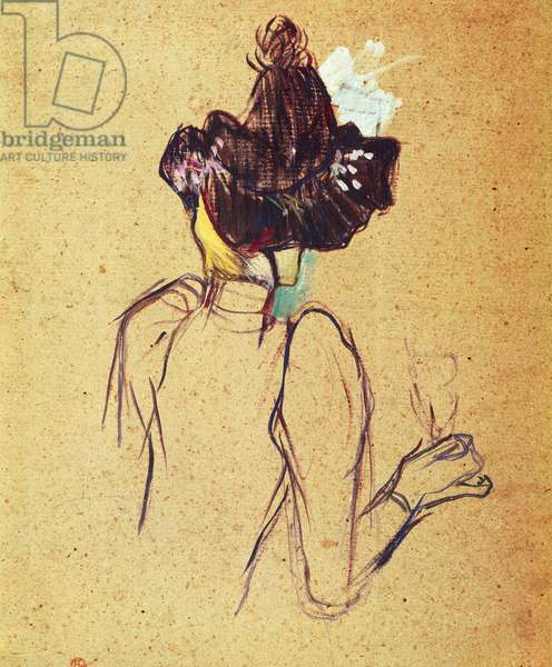 Jane Avril by Henri de Toulouse Lautrec (1864-1901), 1893