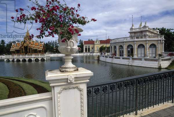 Summer Palace of King Rama V, on banks of Chao Phraya river, Ayutthaya, Thailand, 17th-19th century