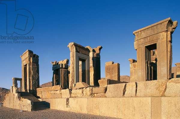 Palace of Darius (Tachara), Persepolis (UNESCO World Heritage List, 1979), Iran, Achaemenid civilization, 6th-5th century BC
