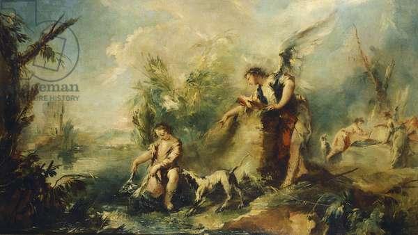 Tobias and Fish, detail