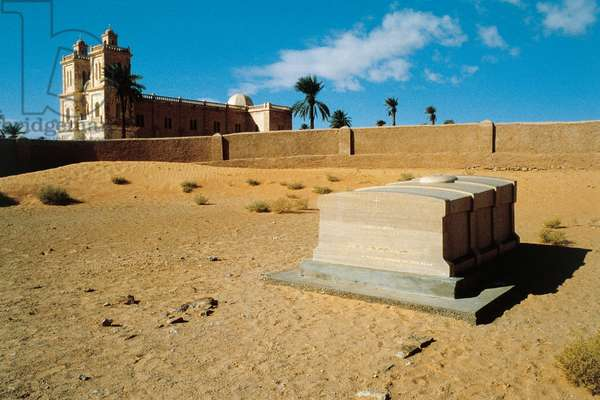 Grave of Charles de Foucauld, El Golea Oasis, Algeria