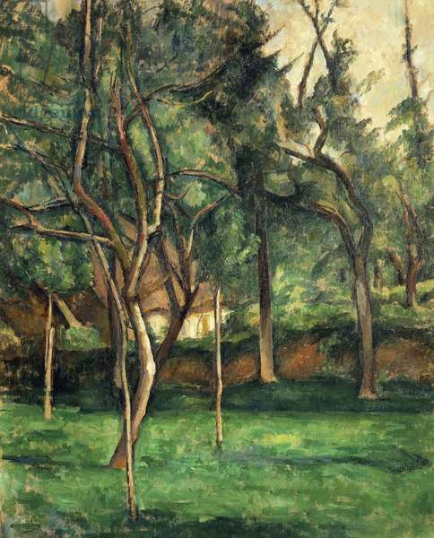 Orchard, 1885-86 (oil on canvas)