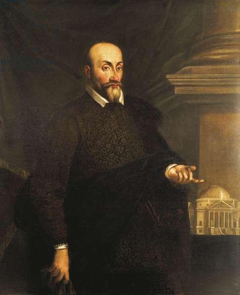 Portrait of the architect, Andrea Palladio, 16th century (painting)