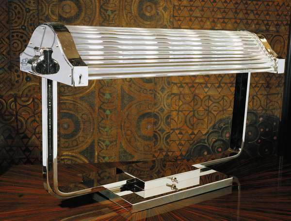 Table lamp from the French ship the Normandie, 1925, Italy, 20th century