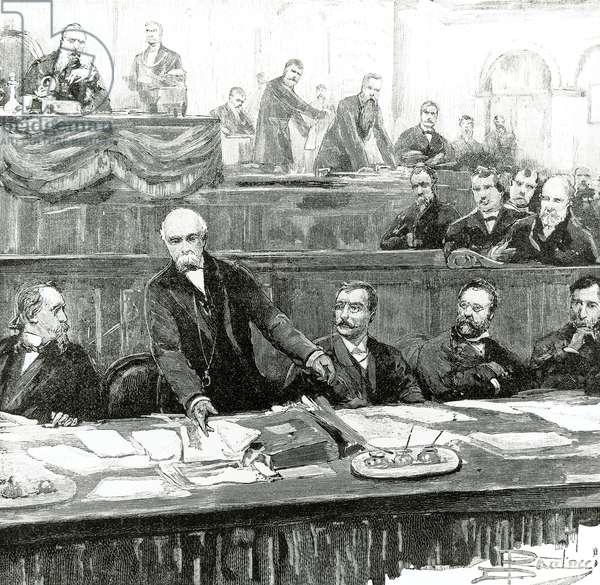 Crispi's speech to Parliament, January 31, 1891, Italy, 19th century