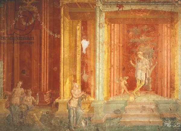 Mural depicting Iphigenia in Tauris, House of Pinarius Cerialis, Pompeii, Campania, Italy, 1st Century