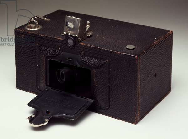 Eastman Kodak camera, Panoram N 1, 1904, with rotating lens to 112 degrees angle, United States of America, 20th century