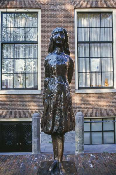 Monument to Anne Frank (1929-1945), Amsterdam, Netherlands