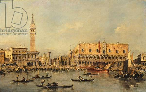 Ducale Palace in Venice, by Francesco Guardi (1712-1793)