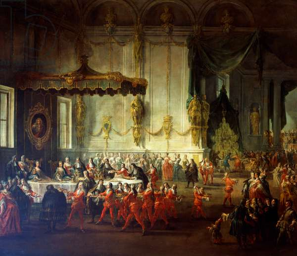 Wedding feast of Elizabeth Farnese and Philip V of Spain, Parma, 1714