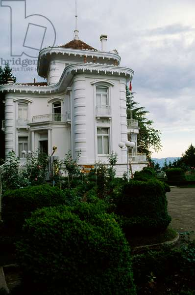 Ataturk Kosku (Ataturk Pavilion), 1890, villa in Trabzon, Black Sea region, Turkey