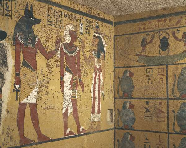 Egypt, Luxor Governorate, Valley of Kings, Tutankhamun Tomb