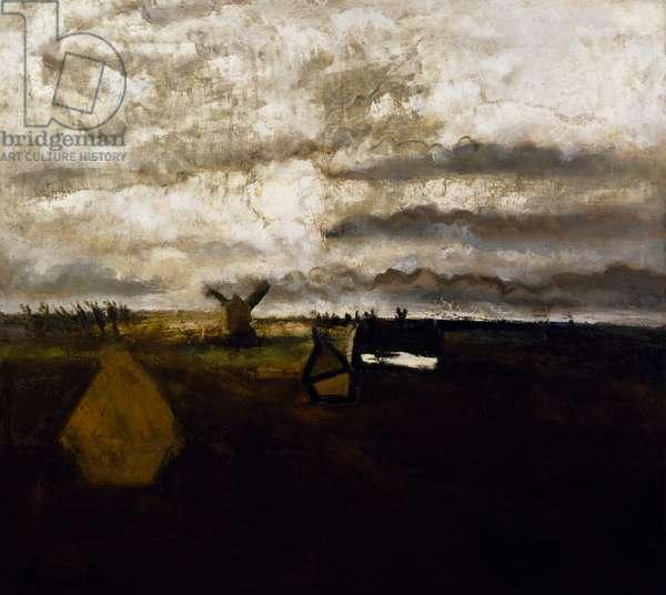 Daybreak, 1935, by Constant Permeke (1886-1952). Belgium, 20th century.