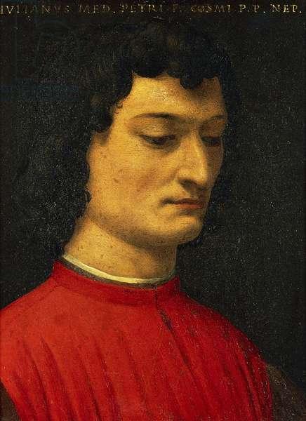 Portrait of Giuliano de Medici, by Agnolo Bronzino, painting