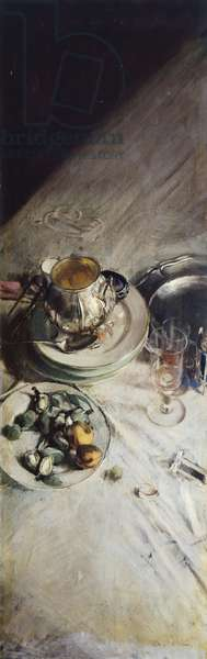 Corner of painter's table by Giovanni Boldini (1842-1931), 1897