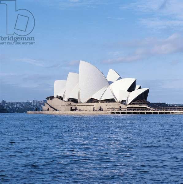 Opera House (UNESCO World Heritage List, 2007), 1973, architect Jorn Utzon, Sydney, New South Wales, Australia, 20th century