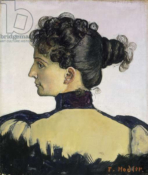 Portrait of Berthe Jacques, 1894 (oil on canvas)