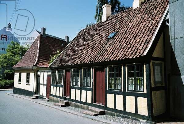 Hans Christian Andersen's childhood home (1805-1875), Odense, Denmark