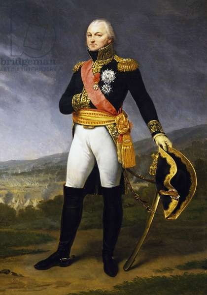 Portrait of Claude Just Alexandre Louis Legrand (1762-1815), French general, Painting by Jean Antoine Gros (1771-1835)