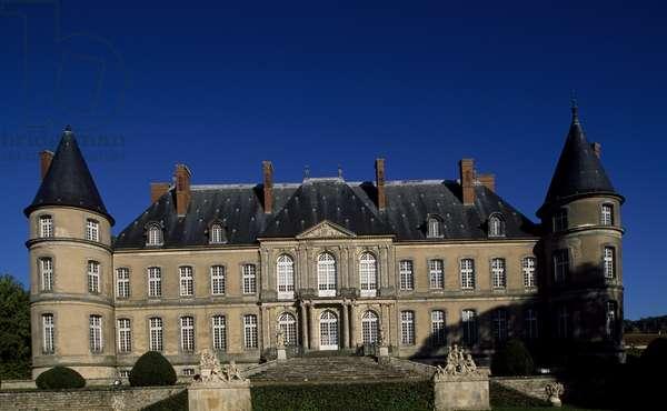 Chateau de Craon, 1720-1732, by Germain Boffrand (1667-1754), Haroue, Lorraine. France, 18th century.