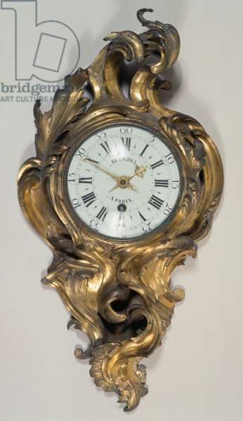 Louis XV style Cartel clock, France, 18th century