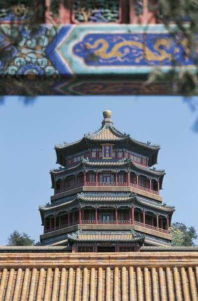 China, Beijing, Summer Palace, Pagoda of Incense of Buddha