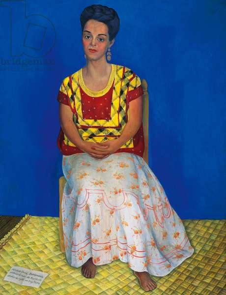 Portrait of Cuba Bustamante, 1946, by Diego Rivera (1886-1957). Mexico, 20th century.