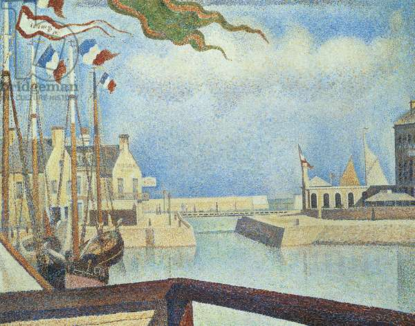 Dimanche a Port en Bessin (Port-en-Bessin), 1888, 65x81 cm (oil on canvas)