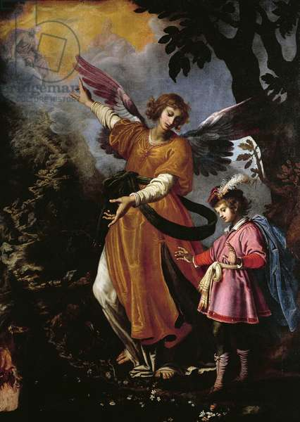 Guardian Angel, by Giovanni Bilivert (1585-1644)